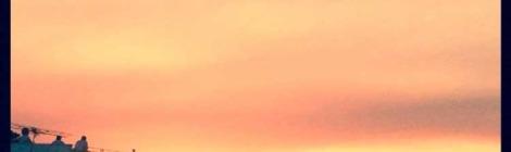 100happywords: 64. Red Sky